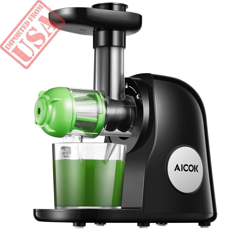 Aicok Juicer Slow Masticating Juicer Extractor, Cold Press Juicer