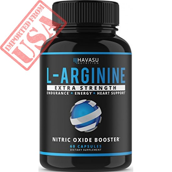 Buy Havasu Nutrition Extra Strength L Arginine Supplement for Muscle Growth Online in Pakistan