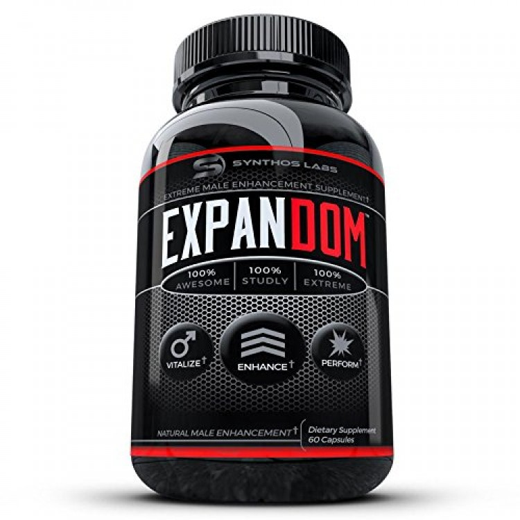 Expandom Male Enhancement Pills- #1 Best Selling Natural Stamina Pill Men.  Libido, Drive, Energy, Growth, Power