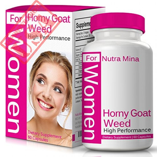 Buy Horny Goat Weed Extract For WOMEN Online in Pakistan