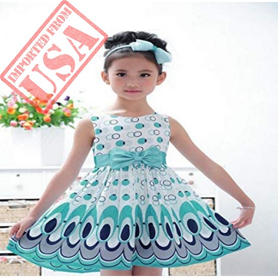 Beautiful Sleeveless Party Dress for Girls online in Pakistan