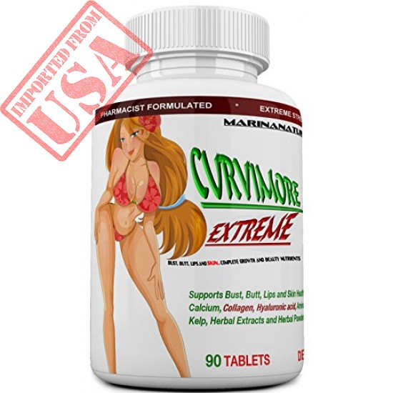 Buy CURVIMORE EXTREME  Breast Enlargement and Butt Enhancement Pills Online in Pakistan