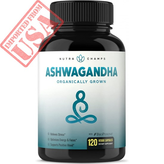 Buy Organic Ashwagandha - Premium Root Powder Supplement for Stress & Anxiety Relief in Pakistan