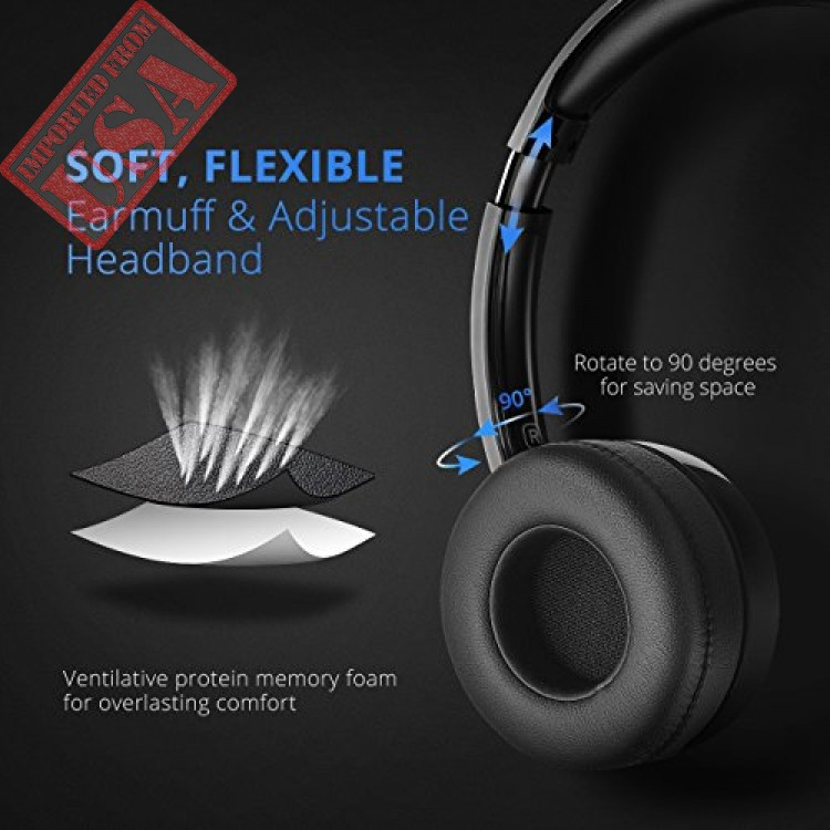 Mpow USB Headset 3.5mm Computer Wired Headphones for Skype Webinar Call Center