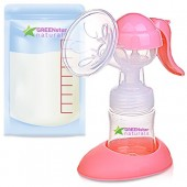 Buy Greenstar Advanced Breast Pump Set with Bottle and Bags Online in Pakistan