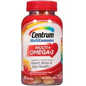 Best Centrum MultiGummies Multi + Omega-3 Multivitamin, Strawberry, Lemon, Orange Shop in Pakistan