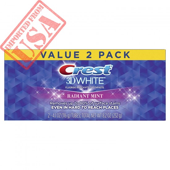 Original Crest 3D White, Whitening Toothpaste Radiant Mint Online in Pakistan