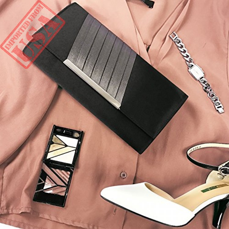 73e296f01ad Buy Becko Satin & Matte Wallet and Purse Long Clutch Online in Pakistan