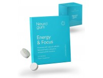 Neuro Gum Nootropic Energy Gum | Caffeine + L-theanine + B Vitamins Sale in Pakistan
