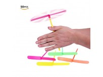 Buy online CiCy 50 PCS Plastic Dragonfly Plastic Bamboo-copter Bamboo Dragonfly Pakistan