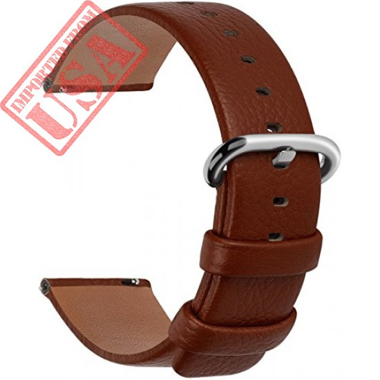 12 Colors Genuine Leather Watch Strap by Fullmosa Sale in Pakistan