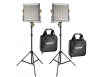 Dimmable Bi-Color 480 LED Video Light and Stand Lighting Kit for YouTube Studio Photography imported from USA