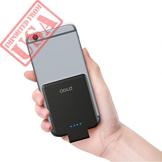 Buy Original oisle Mini Power Bank Portable Charger Compatible with iPhone 5+/6+/7+/8+/X Imported from USA