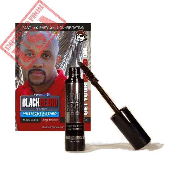 Blackbeard for Men Formula X - Instant Brush-on Beard & Mustache Color Sale in Pakistan