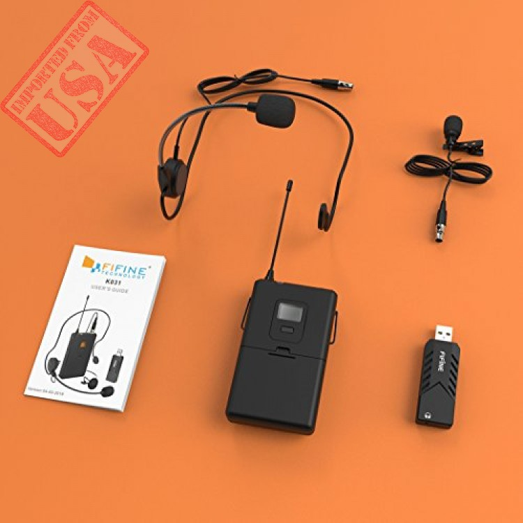 imported wireless microphones headset uhf wireless system