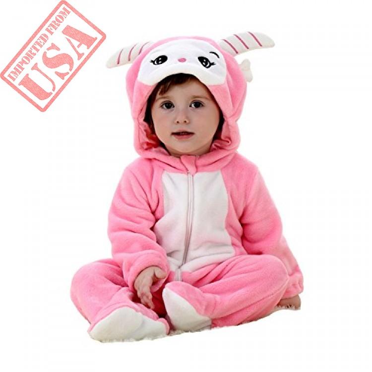 f365bf6702206 babypoem unisex-baby flannel romper animal onesie pajamas outfits shop  online in pakistan