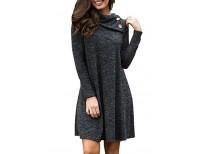 Get online High quality women`s Turtleneck Long Coats in Pakistan
