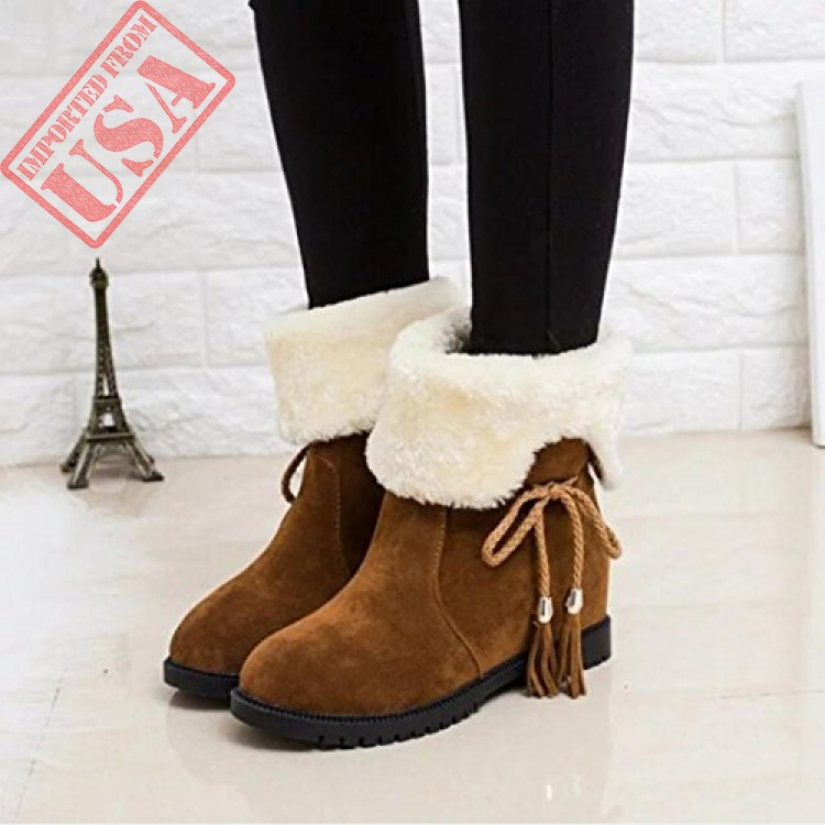 4fb65590e Buy online High Quality Winter Snow Boots For Women in Pakistan