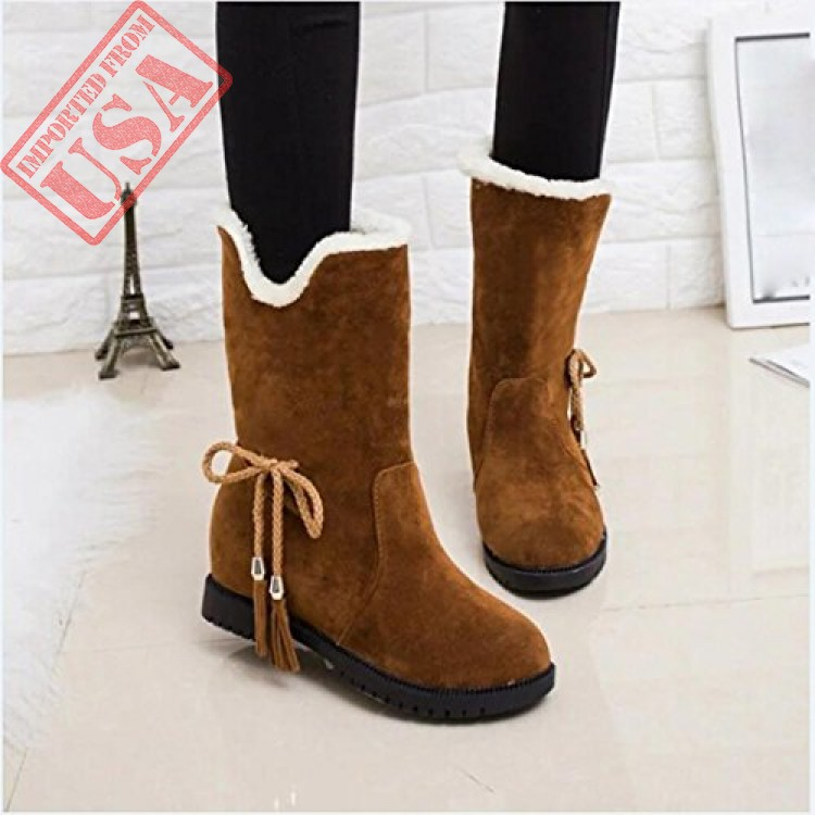 60109161157f Buy online High Quality Winter Snow Boots For Women in Pakistan