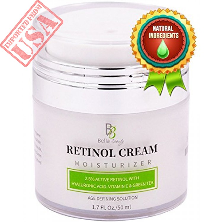 Retinol Moisturizer Anti Aging Cream For Face And Eye Area With