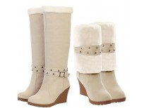 Shop online Premium Quality Knee High Ladies boots in Pakistan