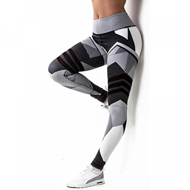 023490fe88b02 Buy GBSELL Women Print Workout Athletic Leggings Online in Pakistan