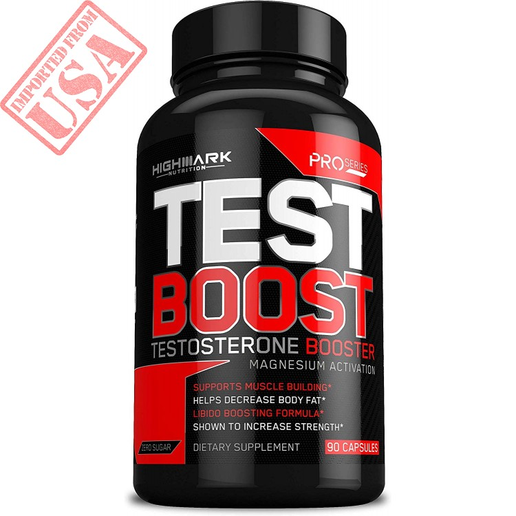 Natural Testosterone Booster for Men by HighMark Nutrition: Libido Enhancer Dietary Supplement
