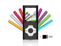 Buy Tomameri Compact MP4/MP3 Player with a 32 GB Micro SD Card Online in Pakistan