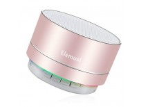 BUY ELEMUSI BLUETOOTH SPEAKER,PORTABLE STEREO OUTDOOR SPEAKER,MINI WIRELESS SPEAKER WITH HD AUDIO AND ENHANCED BASS, BUILT-IN-MIC SPEAKERPHONE, FM RADIO AND TF CARD PLAY MUSIC (ROSE GOLD) IMPORTED FROM USA