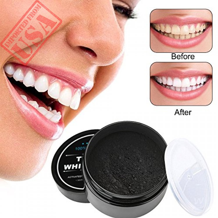 Inst Teeth Whitening Activated Coconut Charcoal Powder 2 1 Ozs 100