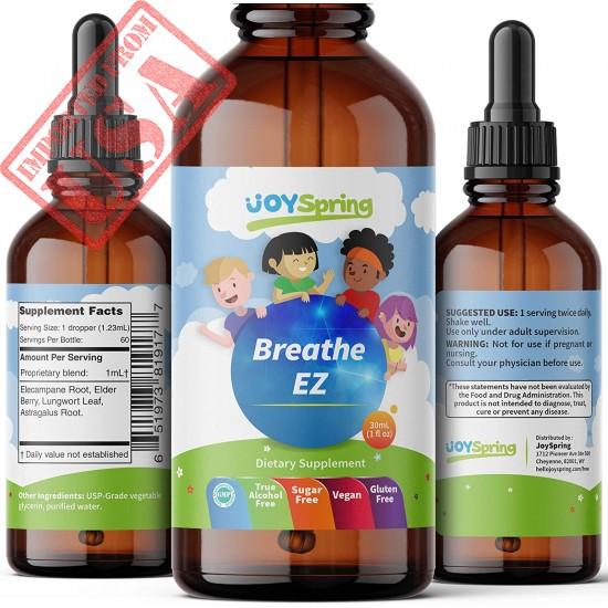 Buy Breathe EZ - Best Allergy Relief for Kids - Liquid Childrens Allergy Medicine - Kids Allergy Medicine Drops in Pakistan