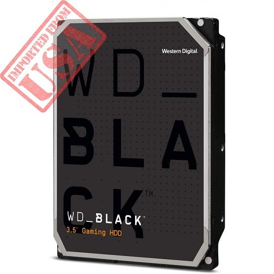 """Western Digital 4TB WD Black Performance Internal Hard Drive HDD - 7200 RPM, SATA 6 Gb/s, 256 MB Cache, 3.5"""" - WD4005FZBX"""