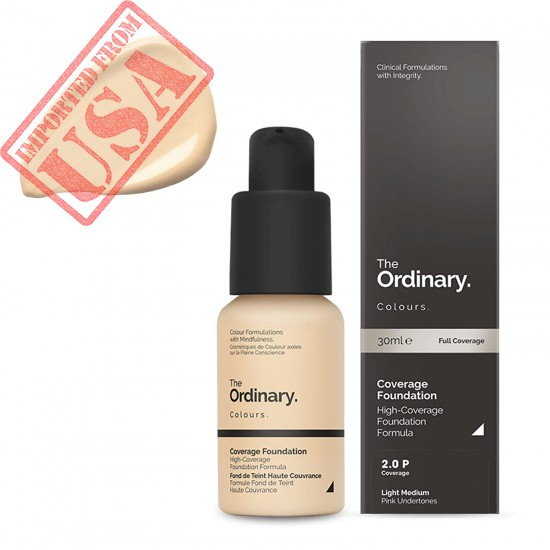 Full Coverage Foundation - 2.0P Light Medium by The Ordinary for Women - 1 oz Foundation