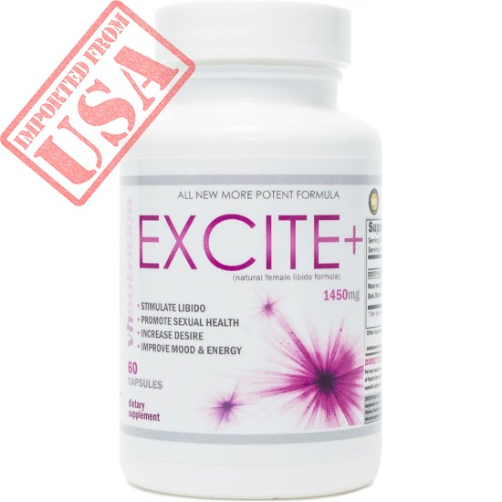 ExcitePlus Natural Female Libido Formula   Libido Enhancement, Promotes Sexual Health Buy Online in Pakistan