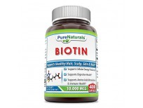 buy pure naturals biotin capsules for skin and hair imported from usa
