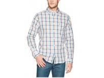 Nautica Men's Wrinkle Resistant Long Sleeve Button Front Shirt