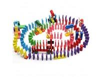 Buy 240pcs Wooden Domino Block Set Online in Pakistan