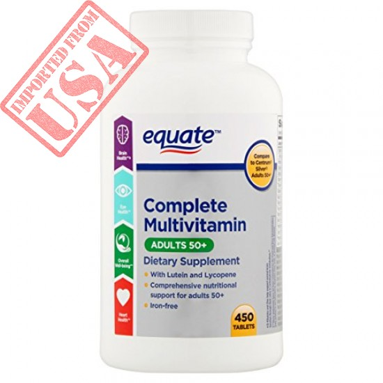 Equate Adults 50+ Complete Multivitamin Supplement Sale in Pakistan