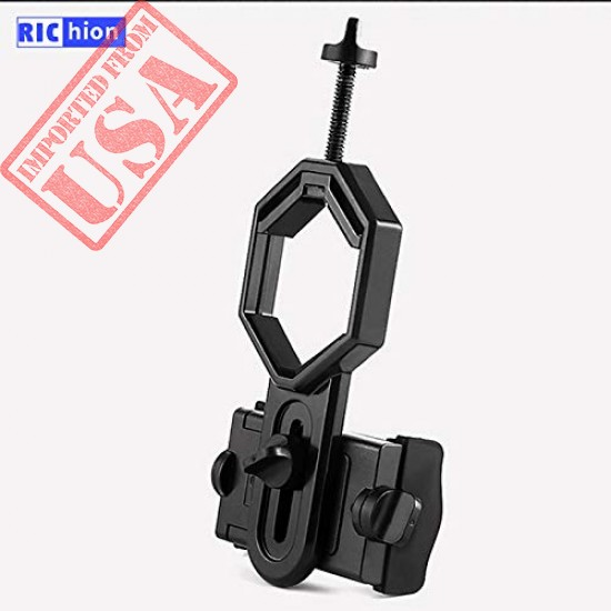 Buy Original Richion Universal Phone Spotting Scope Adapter Mount for Rifle Scope, Camera, Telescope, Microscope, Monocular Imported from USA