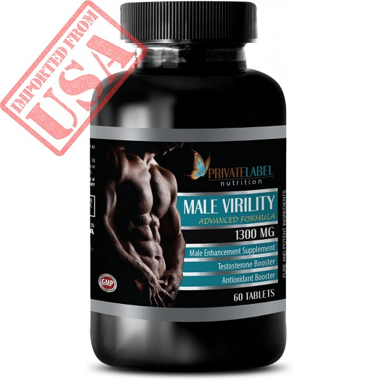 Buy Original Imported Male Virility by Private Label Nutrition Online in Pakistan