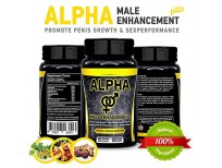 Original Natural Alpha Male Enhancement Pills (Penis Enlargement) & Sex Performance Testosterone Booster Made in USA sale in Pakistan