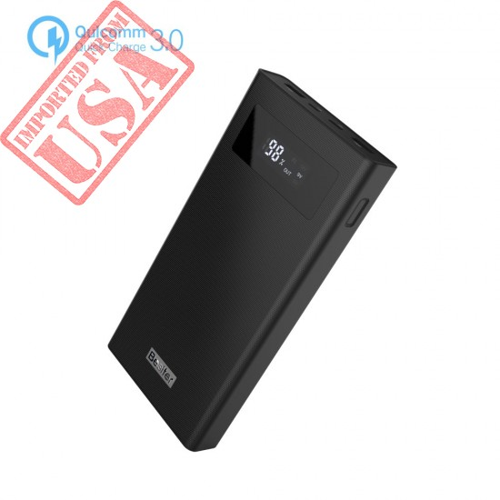 High Capacity Dual Input and Dual USB Output Power Bank 20000mah now in Pakistan