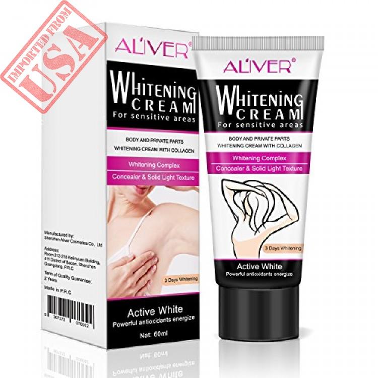 Natural Underarm Whitening Cream Armpit Lightening Brightening Deodorant Cream Body Creams Underarm Repair