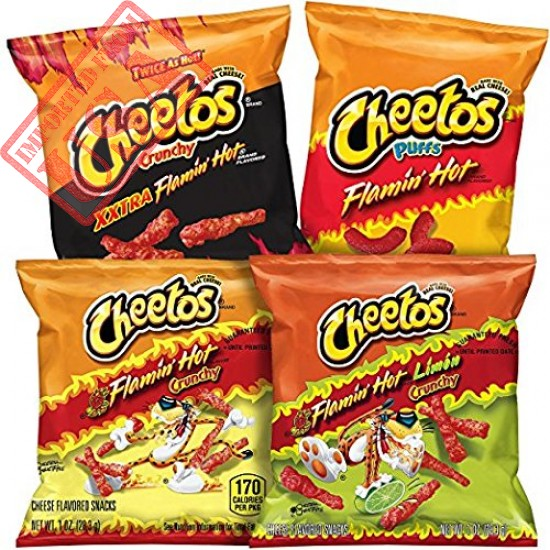 Cheetos Cheetos Hot & Spicy Variety Pack, 40 Ounce