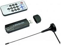 Exiron E4000 USB DVB-T + RTL-SDR Realtek RTL2832U + R820T DVB-T Tuner Receiver Good