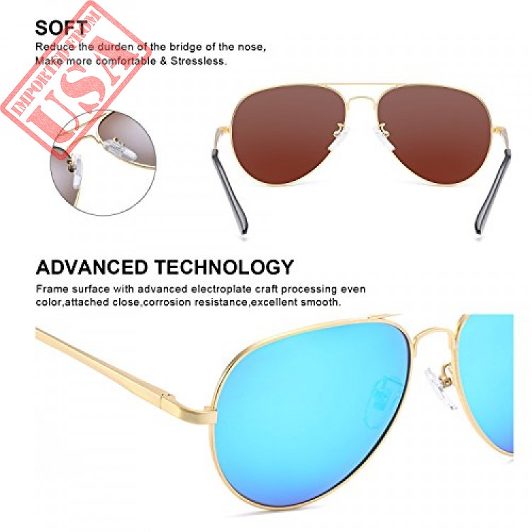 8b734b036a Shop online Imported Mirrored aviator Sunglasses for Women in Pakistan