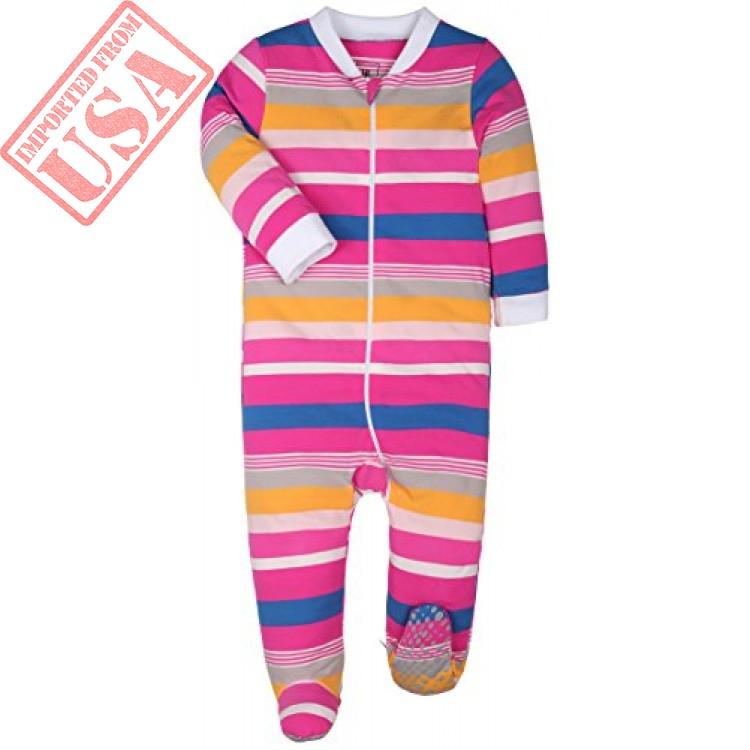 4ebc1b35658c baby cotton cartoon pajamas baby girls and boys long sleeve romper ...