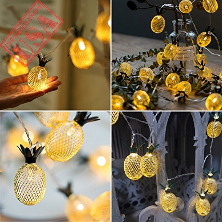 Buy Online Premium Quality Pineapple String Lights For Party And
