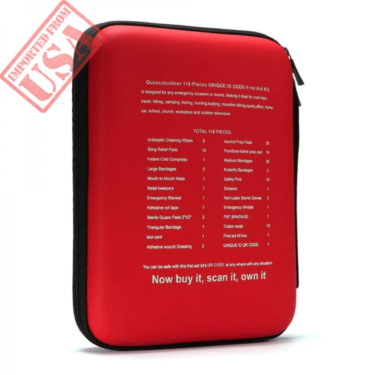 Shop online Imported First Aid Emergency Kit in Pakistan