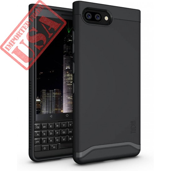 TUDIA [Merge Series] V2 Heavy Duty Extreme Protection with Dual Layer Slim Precise Cutouts Case for BlackBerry KEY2 Buy in Pakistan